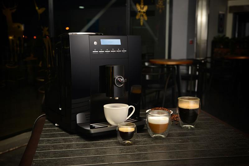 咖啡机摄影